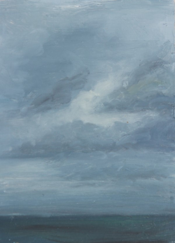 Schilderij | olieverf | zeegezicht | Domburg | Hollandse kust | Noordzee | schilderskust | wolken | clouds | oilpainting | plein air schilderen | plein air painting | malerei | Seelandschaft | Küste | Niederlande | Niederländische Küste | Nordsee | seascape | North Sea |