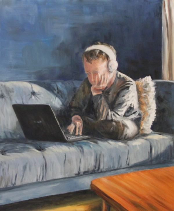 paintings | painting | oilpainting | chair | Kos |learning at home | lockdown | homework | schoolwork| coronalife | quarantainelife | Oscar Pijl | dutch artist | modern art | at home |